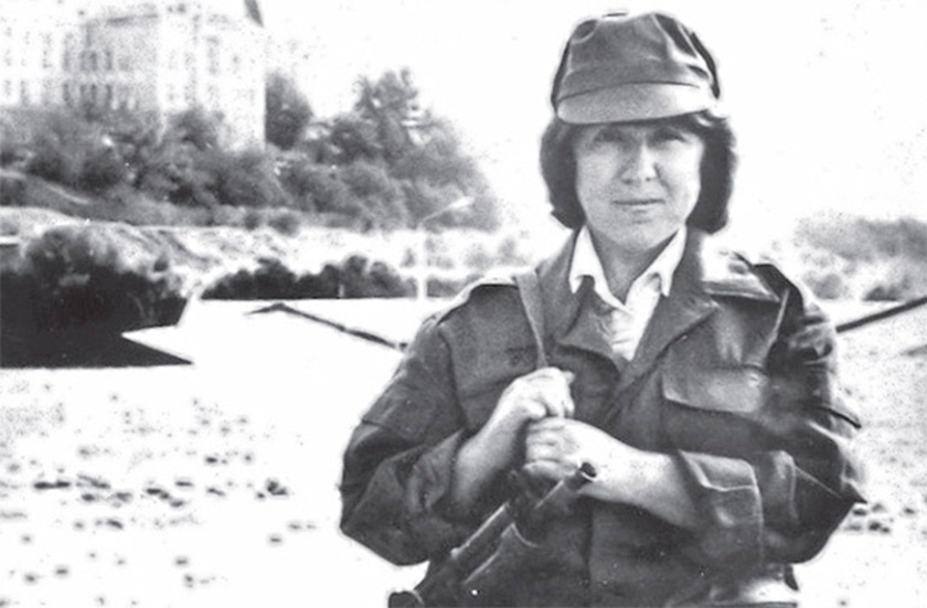 Світлана Алексієвич в Афганістані (Кабул), 1988 р.