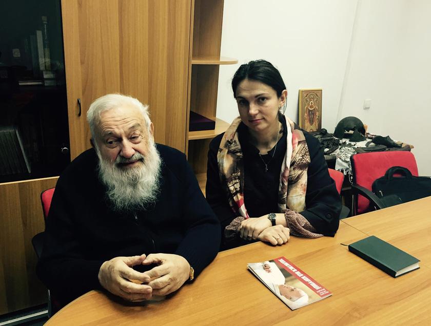 Зустріч з Верховним Архієпископом-емеритом Любомиром Гузаром