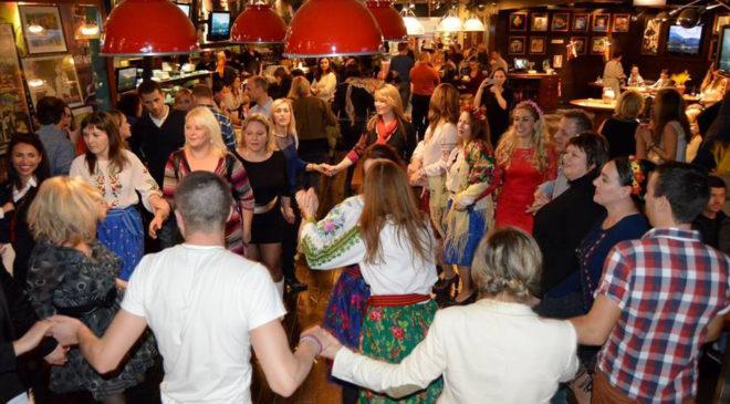 Танці й розваги в День української кухні