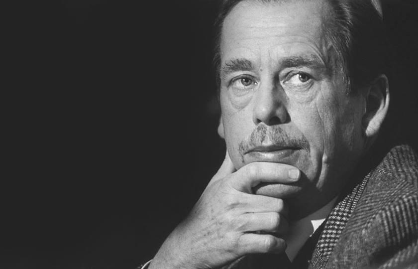 Вацлав Гавел, 4 грудня 1991 року. © Tomki Němec