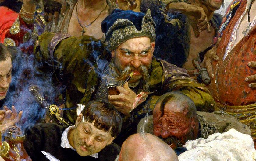 Отаман Сірко. Фрагмент знаменитої картини Іллі Рєпіна