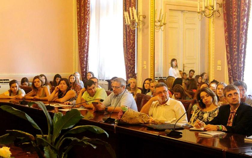На презентації українського перекладу останньої книги Вацлава Гавела «Прошу коротко»