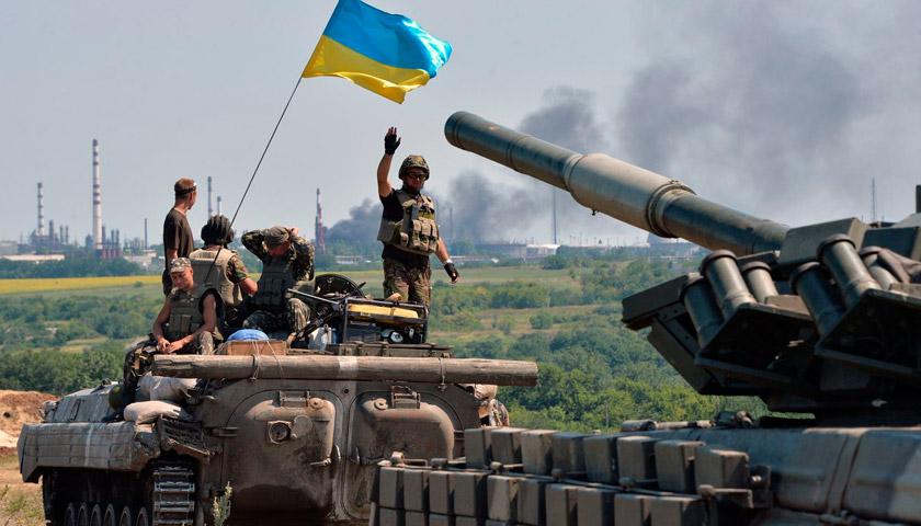«У цій війні, на українській землі, ти розумієш, що небо і сонце благословляють тебе на перемогу»