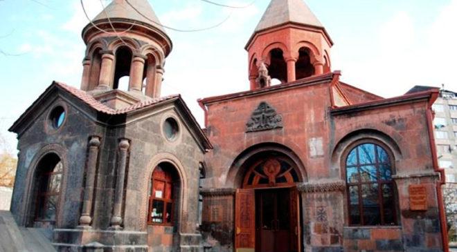 Церква Святої Зоравор у Єревані – найдавніший збережений храм у місті
