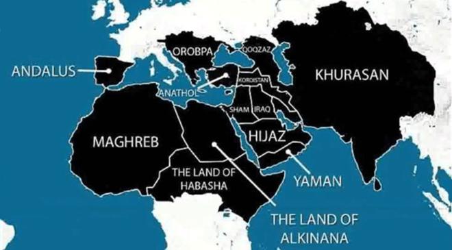 Мапа ІДІЛ