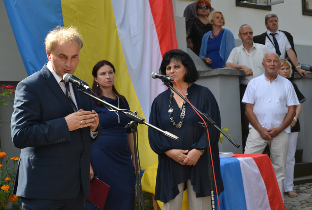 Маріуш Ольбромський і Тамара Сеніна