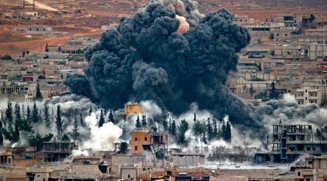Колона турецьких танків входить в Сирію