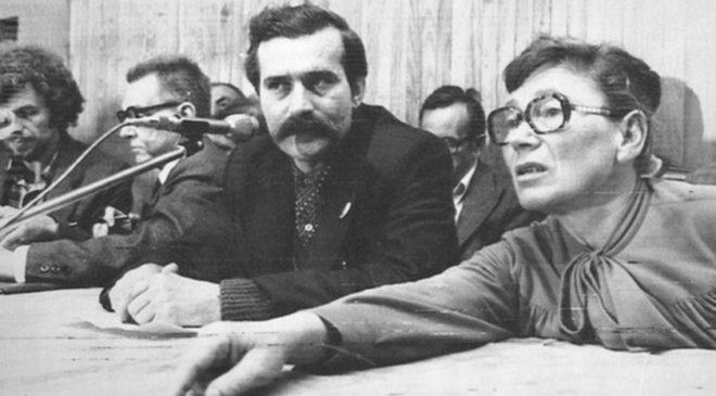 Анна Валентинович і Лех Валенса