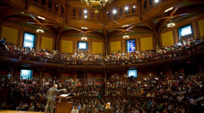 Лекції Сендела в найпрестижніших університетах світу