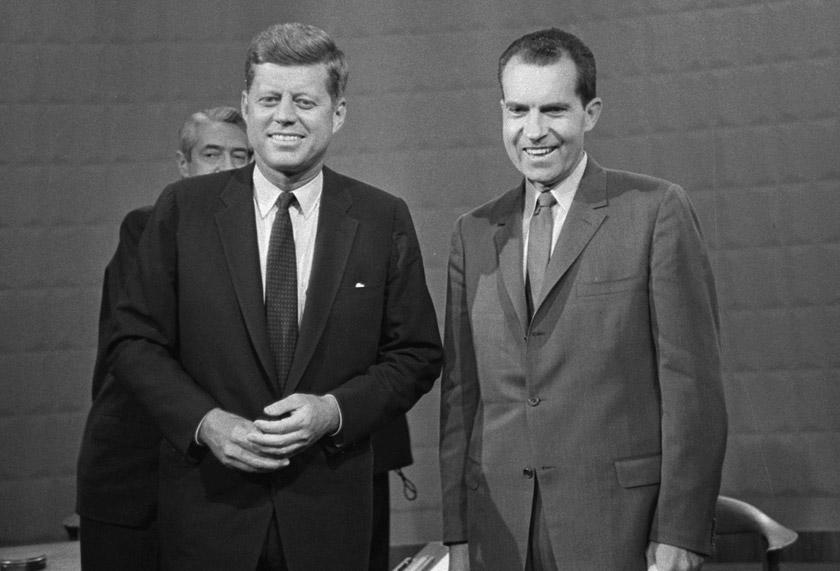1960 року відбулись перші в історії США телевізійні дебати