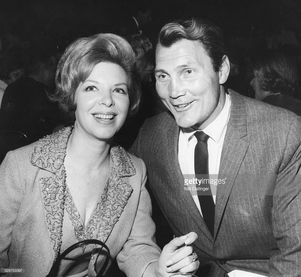 Джек Пеленс з дружиною Вірджинією Бейкер