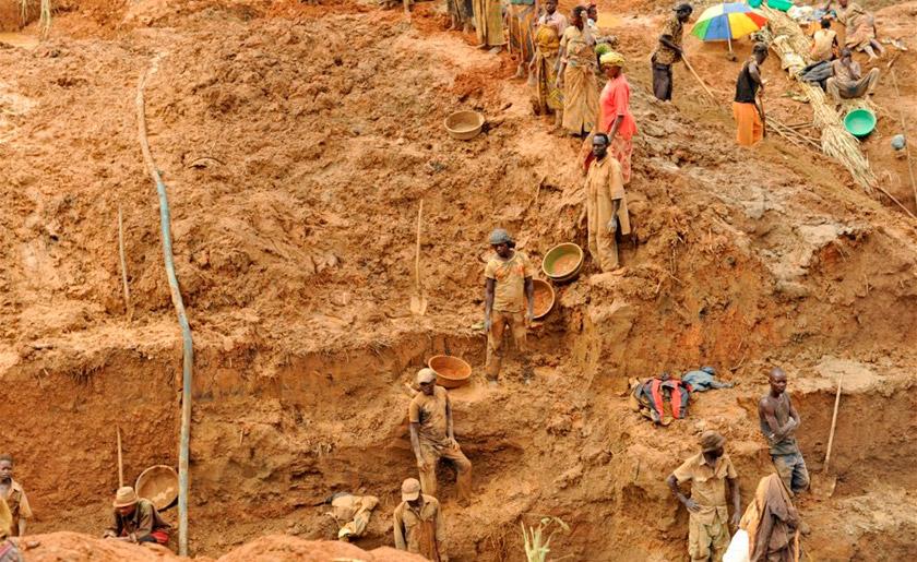 Видобуток колтану в Конго
