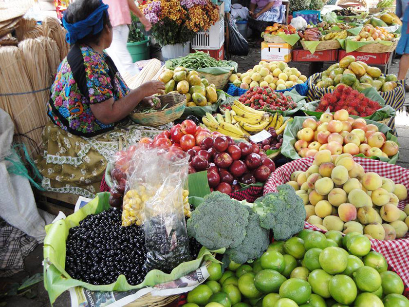 Ринок у Ґватемалі
