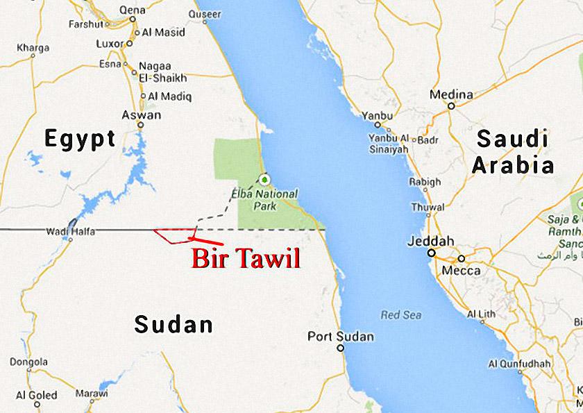 Безлюдний регіон Бір-Тавіль