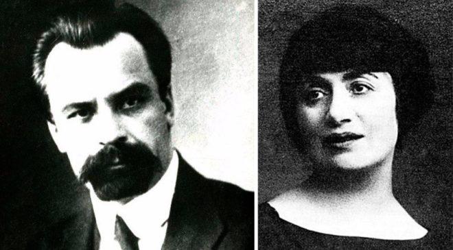 Володимир Винниченко та його дружина Розалія Ліфшиць