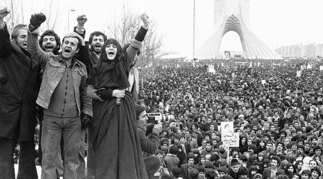 Прихильники аятолли Хомейні проводять демонстрацію