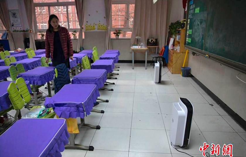 Системи очищення повітря у школах