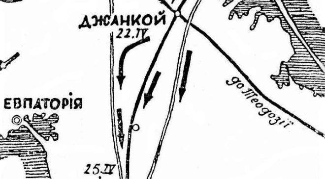 Кримська операція Петра Болбочана