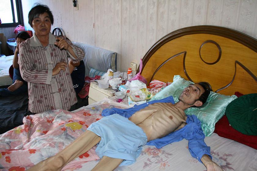 Хворий на рак фермер Ван