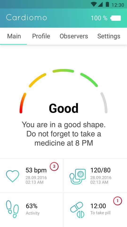 cardiomo-interface