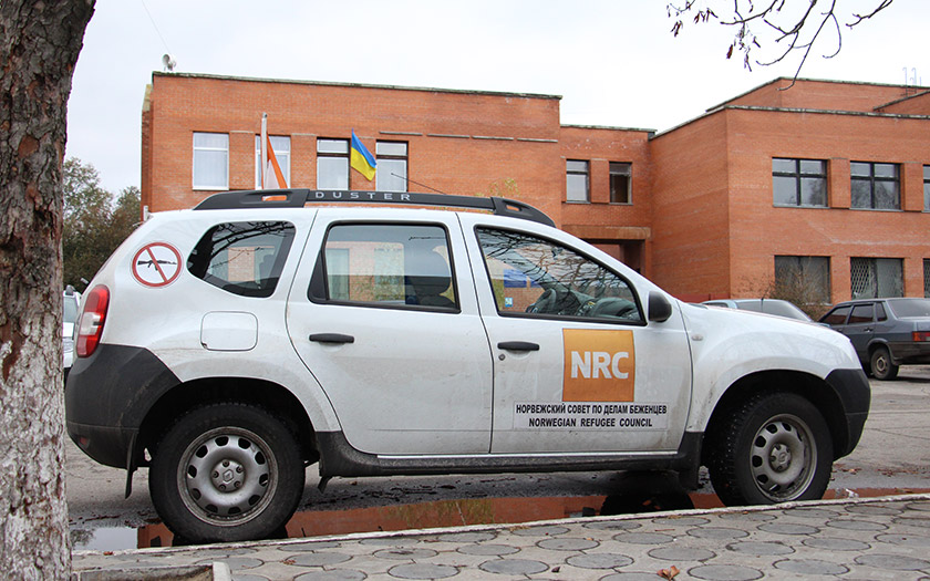 Автомобілі Норвезької ради у справах біженців