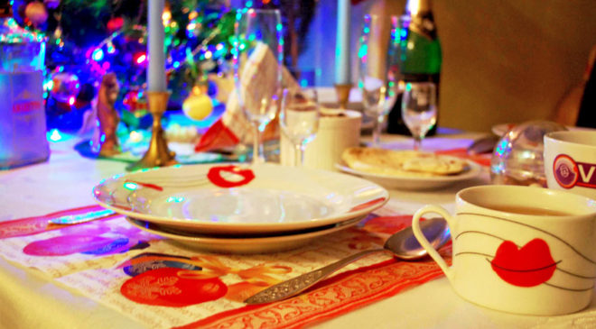 Традиційне оформлення столу греко-католицької вечері