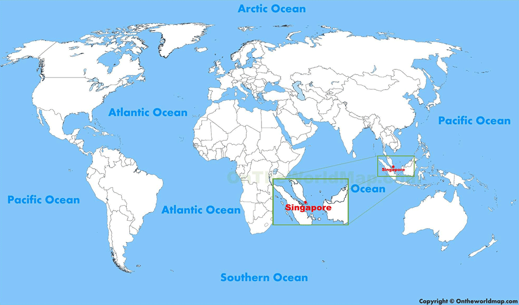 sigapore-map
