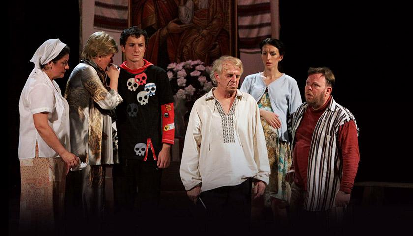 «Останній гречкосій» – гірка комедія на сцені заньківчан