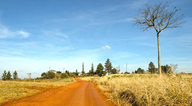Ґрунтові дороги в Арґентині