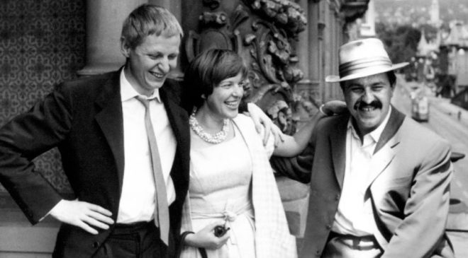 Інґеборґ Бахман із німецькими письменниками