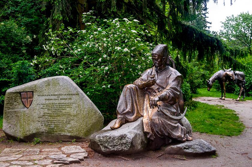 Пам'ятник українським козакам у парку Тюркеншанцпарк