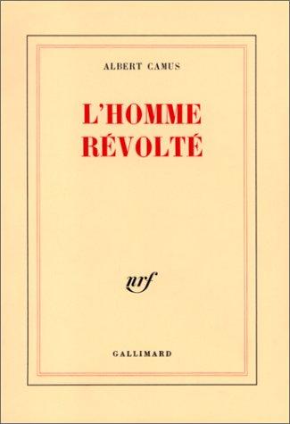 Обкладинка першого видання «Бунтівної людини»