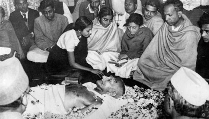Прощання з Магатмою Ганді