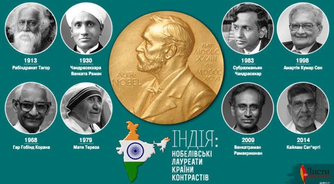 Індійська вісімка: Нобелівські лауреати країни контрастів