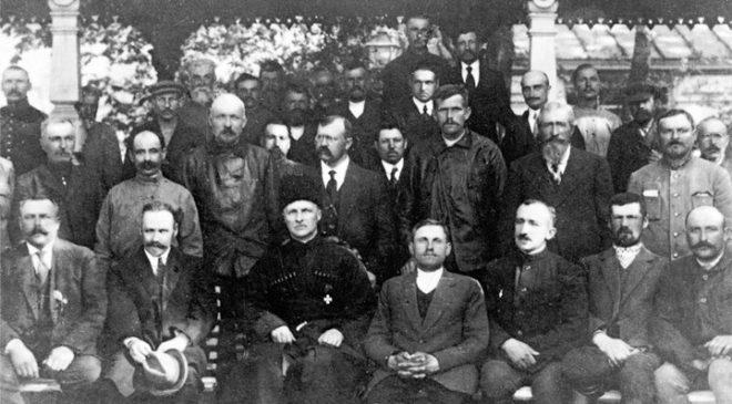 Гетьман з делегатами