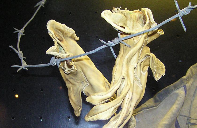 рукавички з людської шкіри