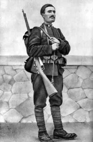 Беніто Муссоліні на фронті