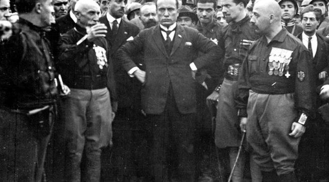 Муссоліні і Quadrumviri