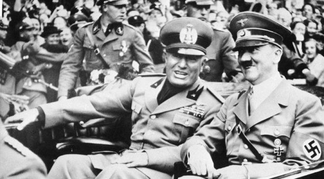 Зустріч Муссоліні з Гітлером в Неаполі