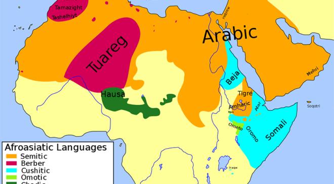 Карта Північної Африки