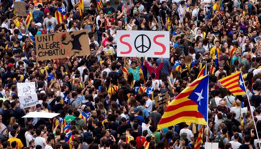 Каталонець про референдум: «Це закінчиться насильством, поза сумнівом»
