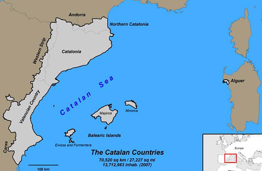 Етнічні землі каталонців