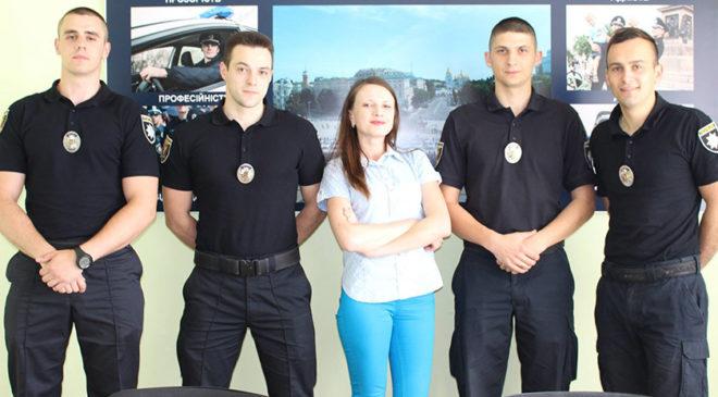 Речниця Патрульної поліції Луцька – Ольга Бузулук