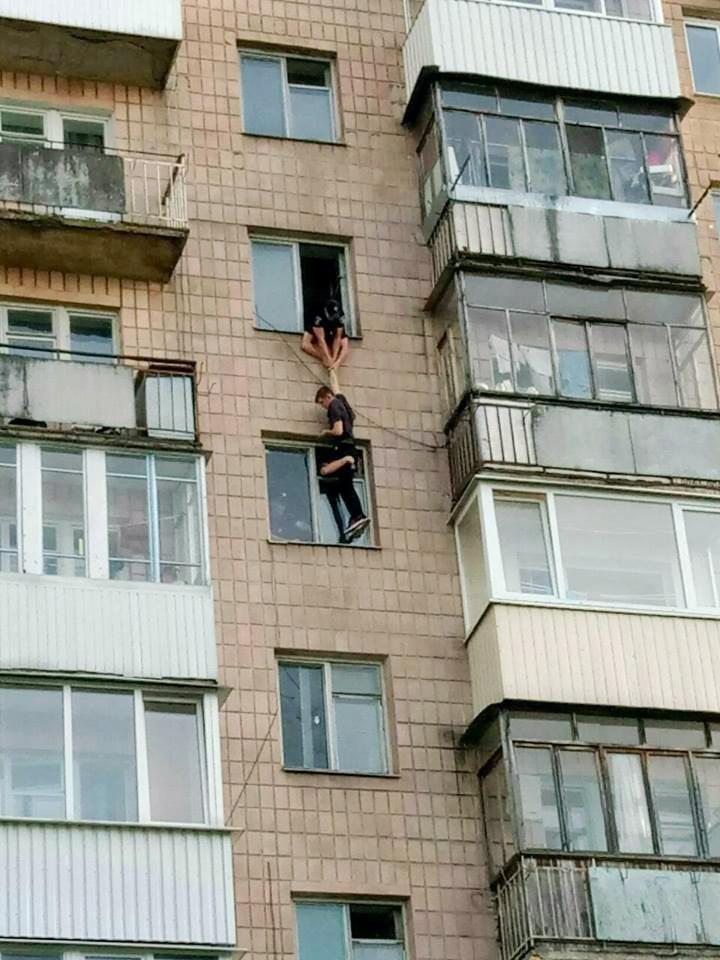 порятунок чоловіка, який збирався вчинити самогубство