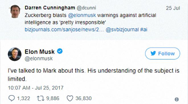 Реакція Ілона Маска у Твіттері