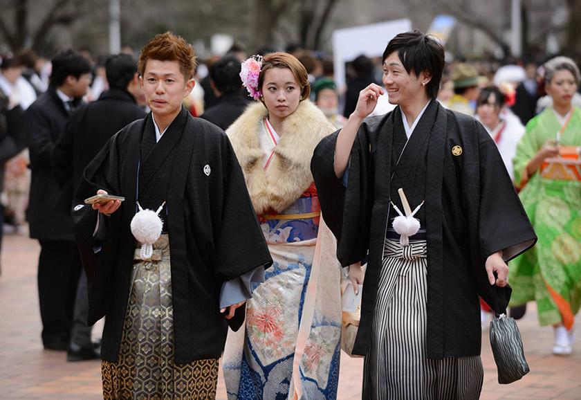 Святкування Дня Повноліття в Японії
