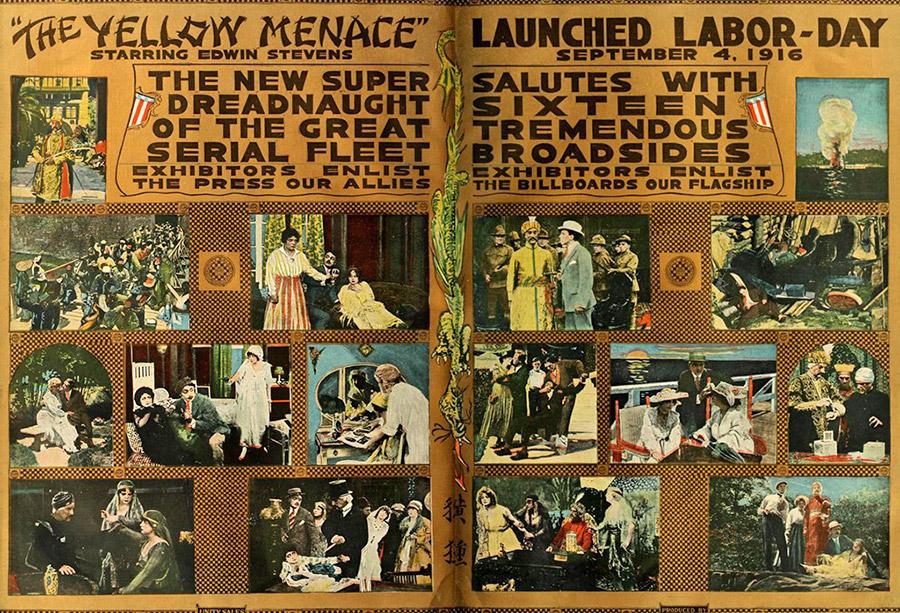 «Жовта небезпека». Серіал 1916 року