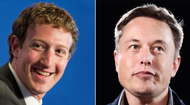 Марк Цукерберг та Ілон Маск