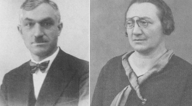 Батьки Олександри Блавацької