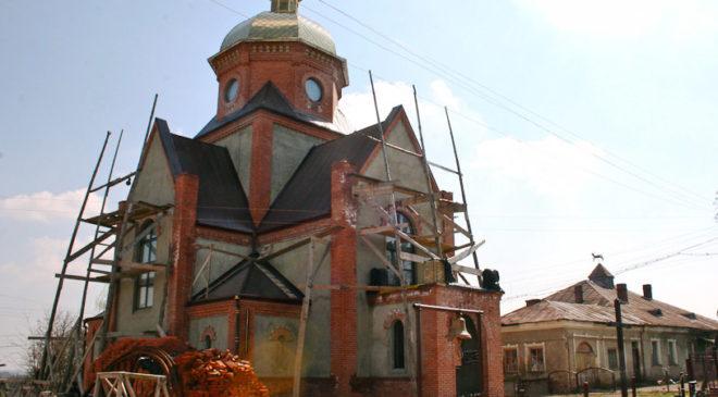 На спорудженні храму Святого Священомученика Йосафата Полоцького